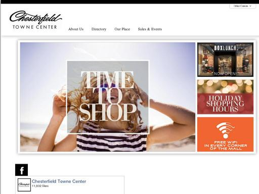 Chesterfield Towne Center Map on