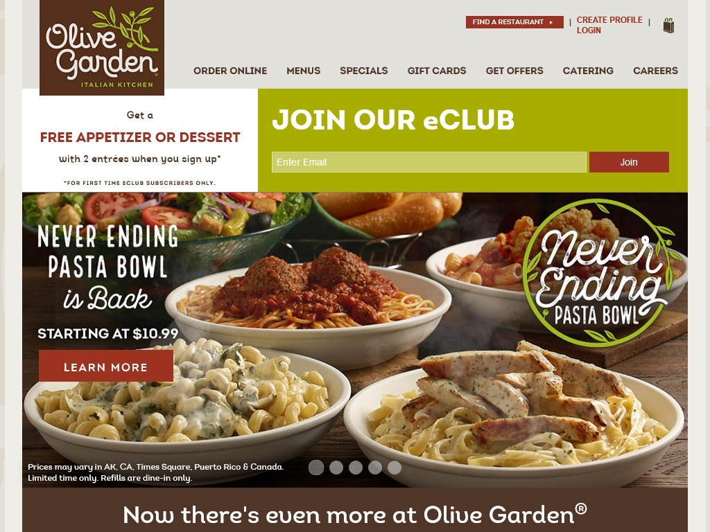 hours for other addison stores - Olive Garden Addison