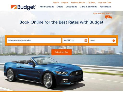 Other Nearby Locations Budget Rent A Car