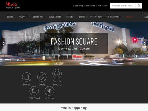98797735c32 Westfield Fashion Square - Sherman Oaks