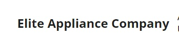 Elite Appliance Company