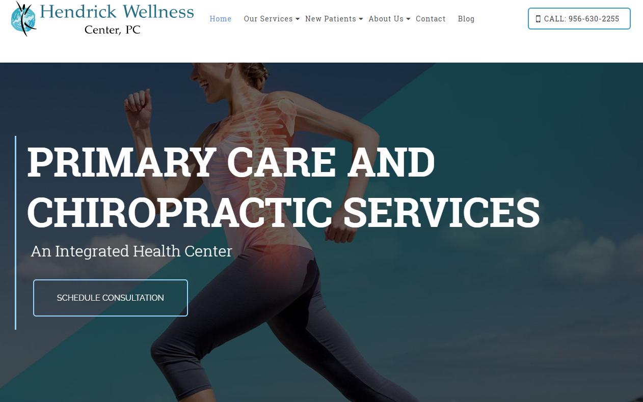 Hendrick Chiropractic in McAllen And Wellness Center