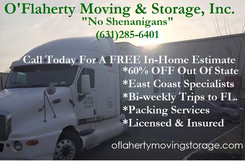 O'flaherty Moving & Storage Inc