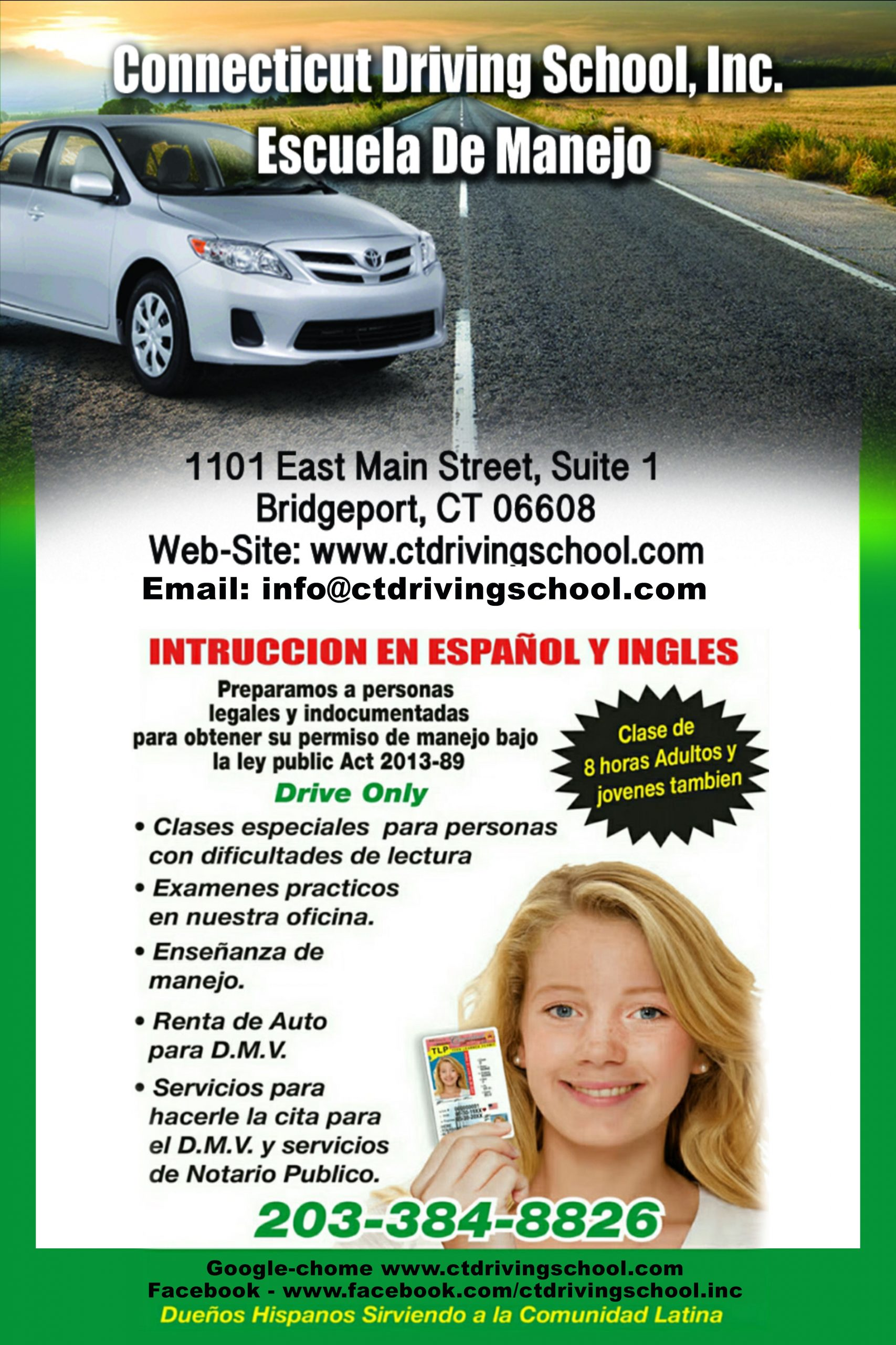 Connecticut Driving School, Inc.