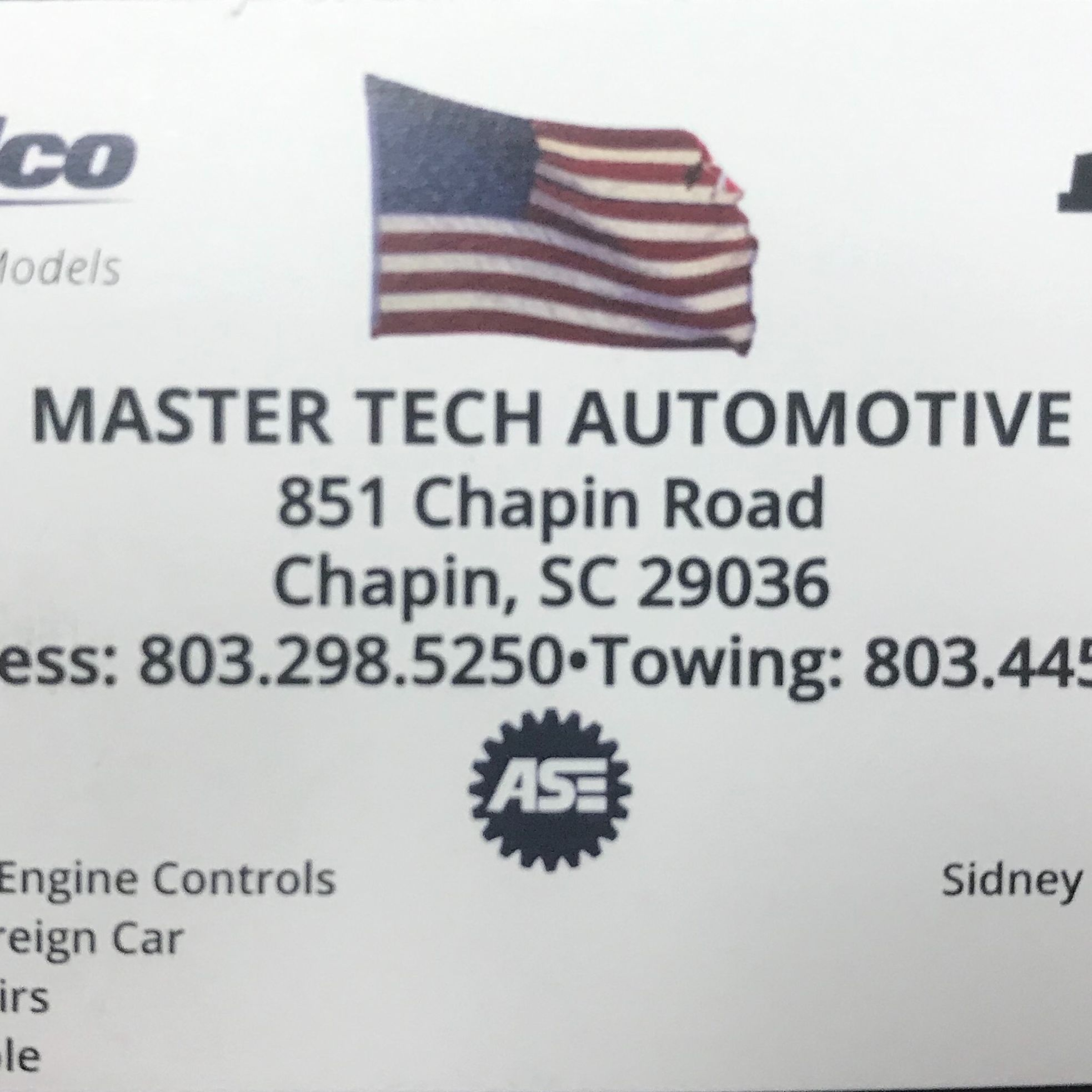 Master Tech Automotive
