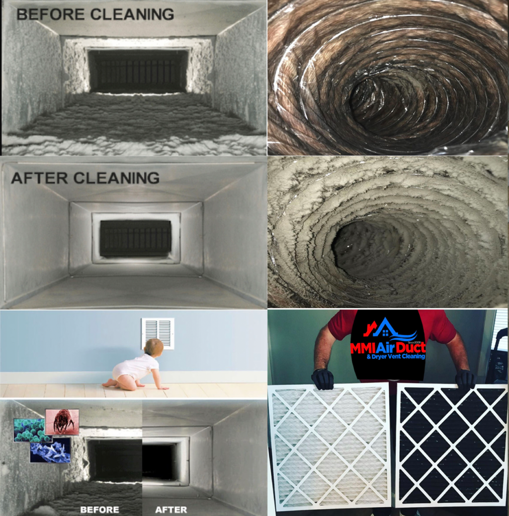 MMI Home Improvement Air Duct and Dryer Vent Cleaning