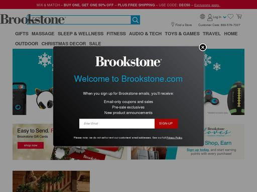 Brookstone Inc