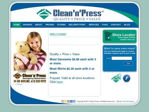 Clean 'N' Press
