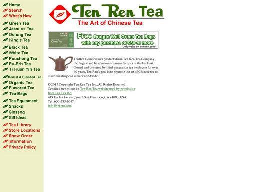 Ten Ren Tea