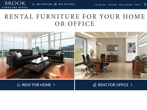 Brook Furniture Rental Inc