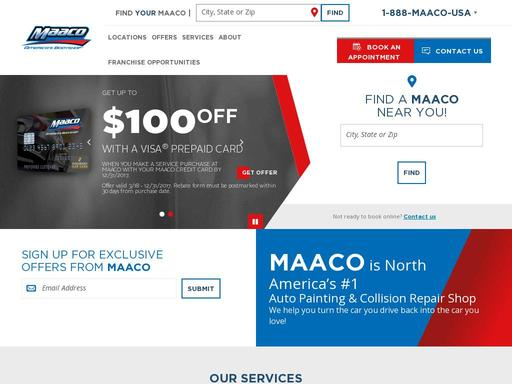Maaco Auto Body Shop