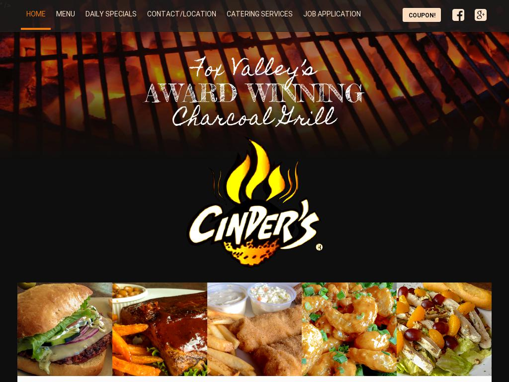 Cinders Charcoal Grill