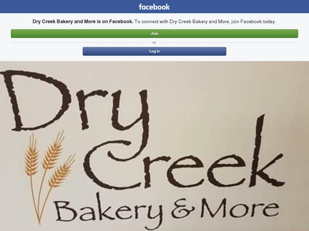 Dry Creek Bakery and More
