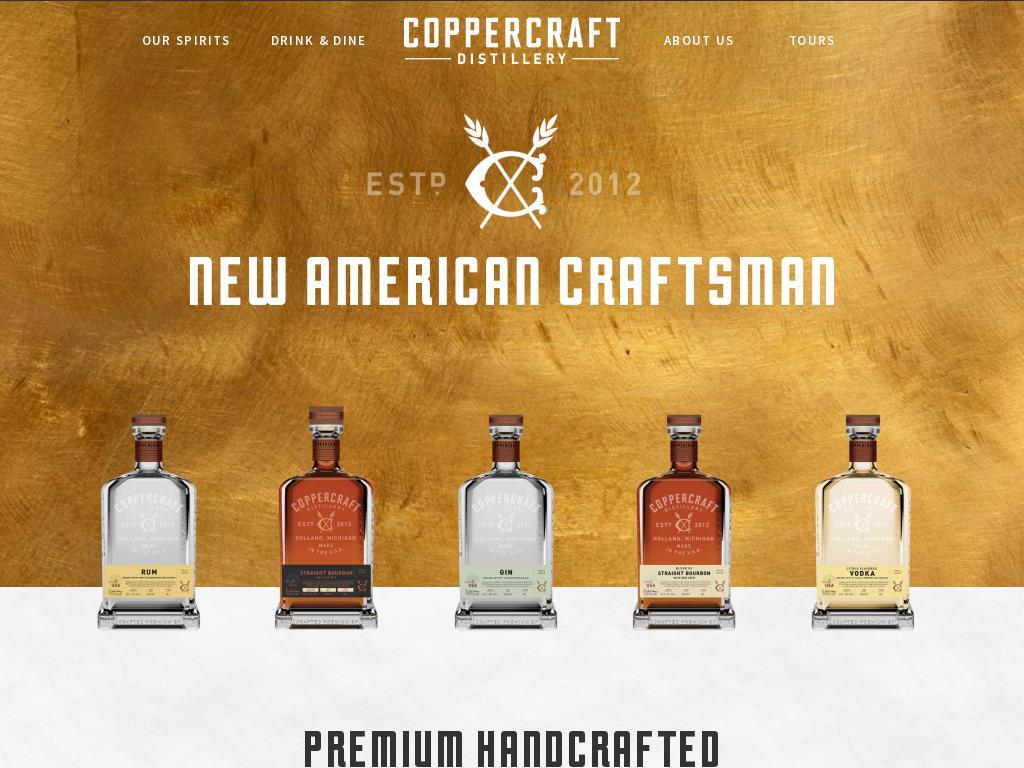 Coppercraft Distillery